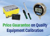 Price Guarantee on Quality Equipment Calibration